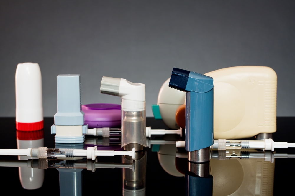 inhalers and syringes