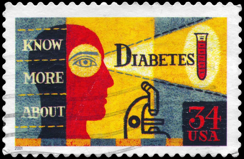 US stamp on diabetes awareness
