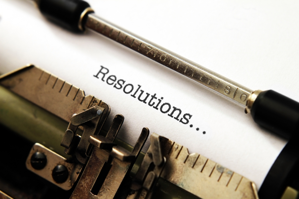 typing the word resolutions